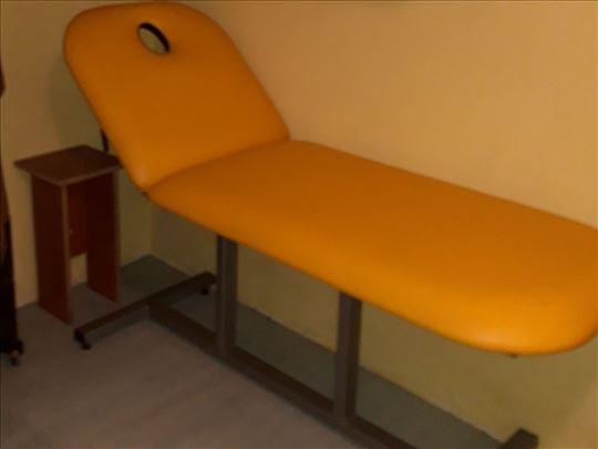 Kozmetički krevet i topilica
