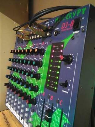 Mixer Mc Crupt Dj-8CH Conrad