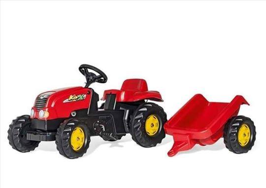 Traktori sa prikolicom za decu