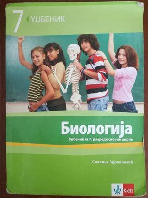 Biologija za 7. razred, Klett, Slavica Zdravković