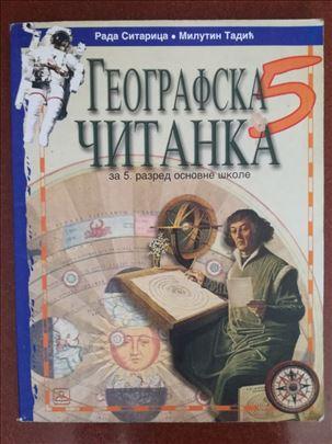 Geografska čitanka za 5.razred, Zavod za udžbenike