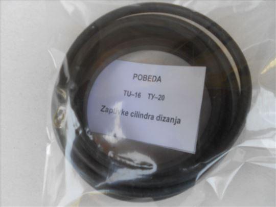 Zaptivke cilindra dizanja viljuskar POBEDA tu16