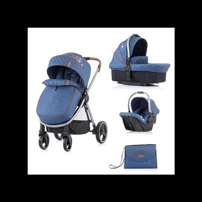 Kolica za bebe 3u1 Chipolino Prema