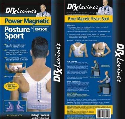 DR-Levinov magnetni pojas za kičmu