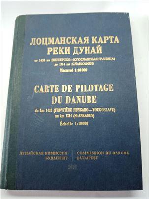Plovidbena karta Dunava 1433-1214Km