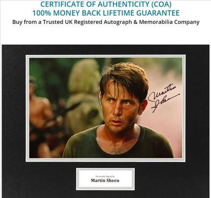 Martin Sheen Autogram sa fotografijom
