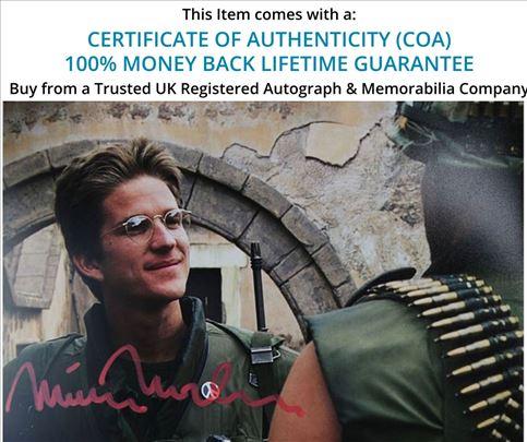 Matthew Modine Autogram sa fotografijom