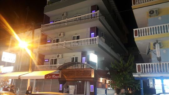 Grčka, Paralia, hotel + lokal,