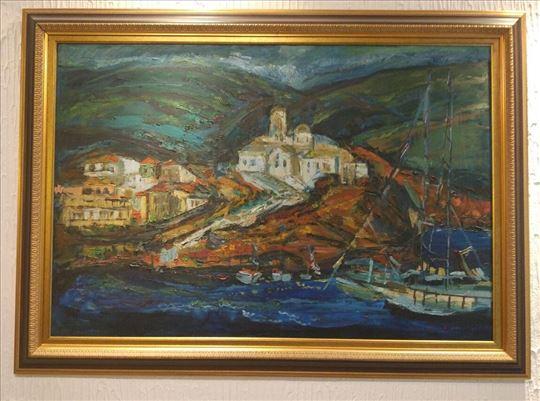 Ulje na platnu akad.slikarka Tatjana Pirović