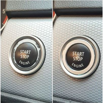 BMW prsten oko start stop dugmeta za E90LCI
