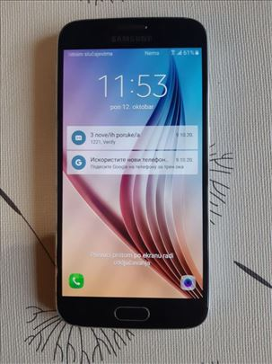 Samsung Galaxy S6 odlično očuvan