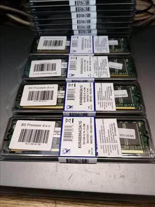 1GB DDR1 memorija Kingston 400MHz -NOVO-