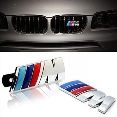 Komplet znakova BMW prednji i zadnji
