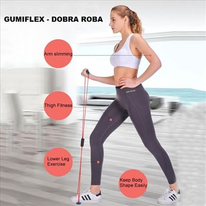 Gumiflex - sprava za Fitnes i Pilates - plavi
