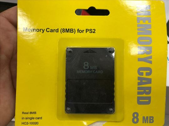 Memorijska kartica za ps2 novo