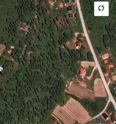 Građevinsko zemljište na prodaju Dajići (Ivanjica)
