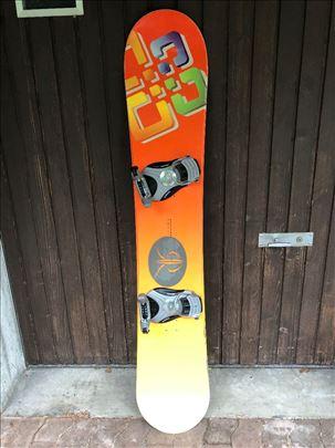 Snowboard sa vezovima 155 cm, uvoz Švajcarska