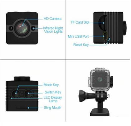 Mini camera vodootporna sa senzorom pokreta