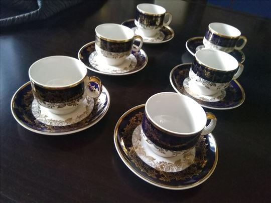 Šoljice za kafu-kobalt i pozlata-Titov Veles