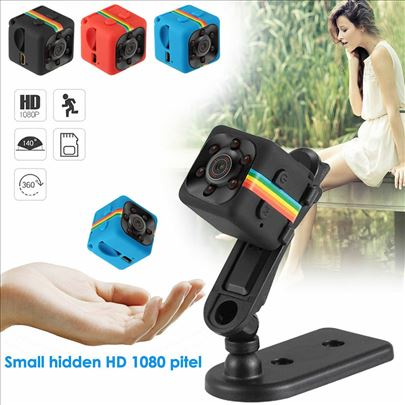SQ8/SQ11 Mini Spy Kamera 720p/1080p uz autodetect
