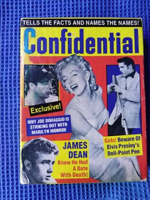 Confidential magazin, stare karte