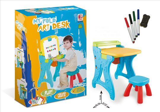 Nov sto sa stolicom,za crtanje i pisanje