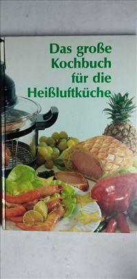 Knjiga:Das Grosse Kochbuch fuer dieHaissluftkueche