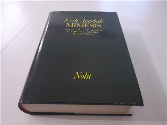 Mimesis Erih Auerbah Godina izdanja:1978 Jezik: