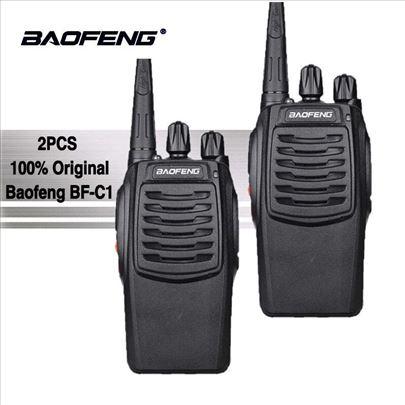 Radio stanica Baofeng BF-C1 dva komada toki voki