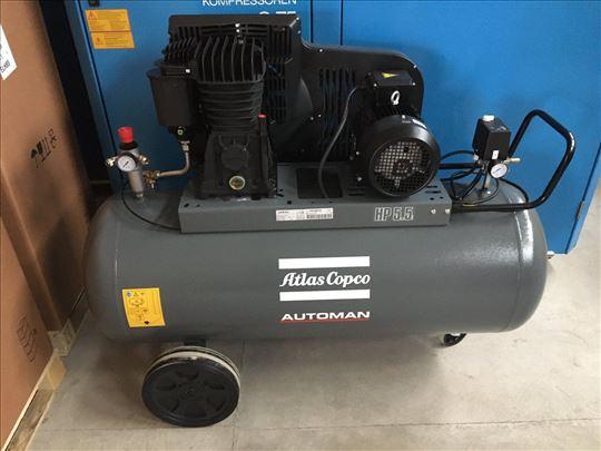 Klipni kompresor 4 kW Atlas Copco