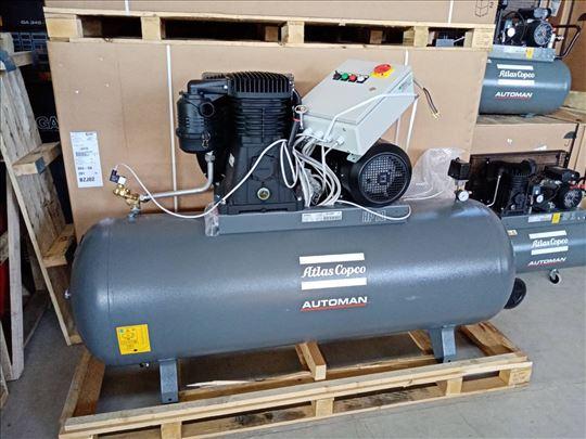klipni kompresor 7.5 kW - NOVO Atlas Copco