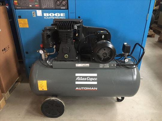 Klipni kompresor Atlas Copco 5.5 kW  - 270 lt boca