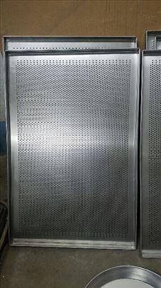 Pekarski plehovi 60 x 40cm šupljikasti novo