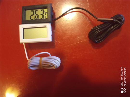 Termometar za akvarijume sa sondom 2 met+baterije
