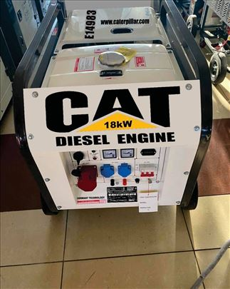 Agregat Cat 18Kw dizel tro-monofazni
