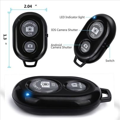 Bluetooth daljinski za mobilni telefon - više boja