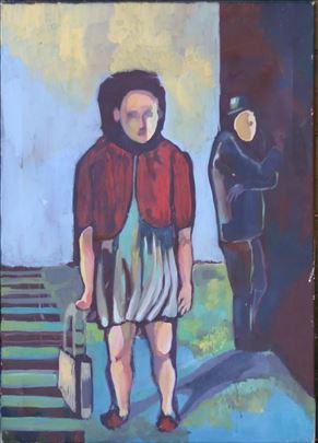 Devojka Na Zeleznickoj Stanici