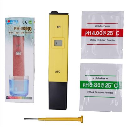 Digitalni merač pH vrednosti komplet set