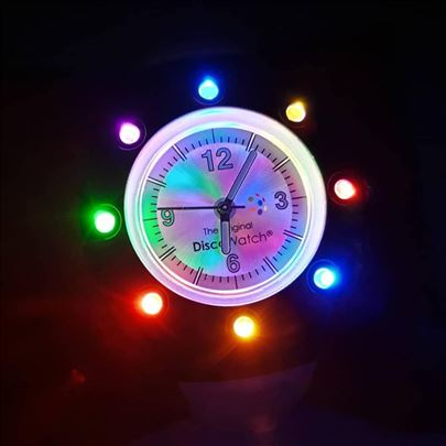 Party Fun Lights Disco Watch