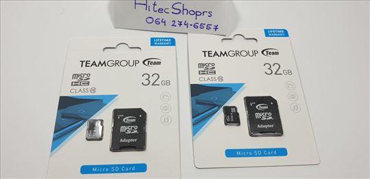 MICRO SD kartica SDHC 32GB CLASS 10+SD Adapter TUS