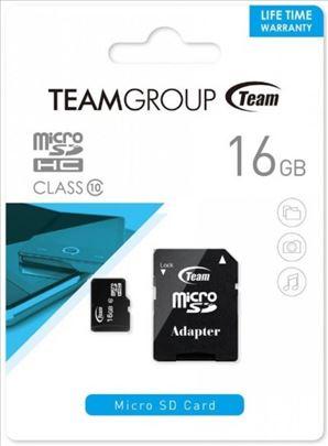 MICRO SDHC 16GB CLASS 10+SD Adapter TUSDH16GCL100