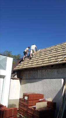 Sanacije krova, renoviranje, izgradnja, majstori