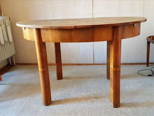Produzivi trpezarijski sto, puno drvo
