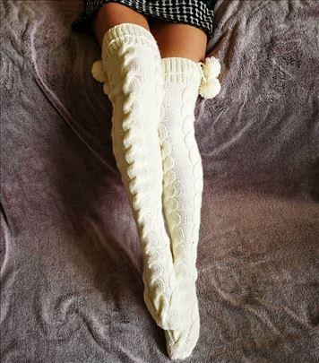 Pletene čarapice iznad kolena