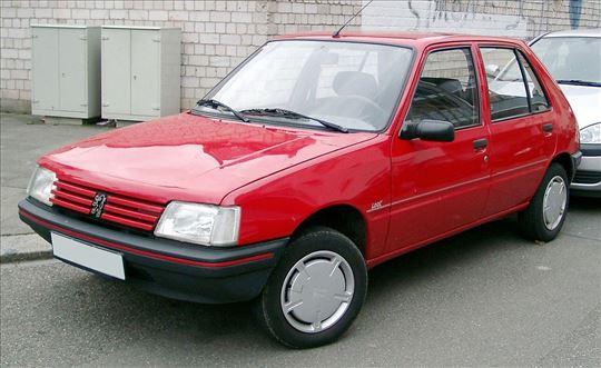 Razni i polovni delovi za Peugeot 205