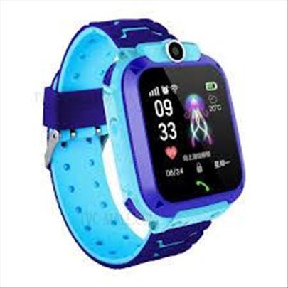Deciji Smart Sat pametni sat telefon Q12 Plavi