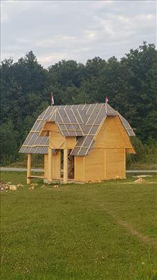 Prodajem montažnu kuću od drveta!