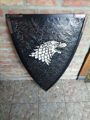 Game of Thrones - House stark Shield