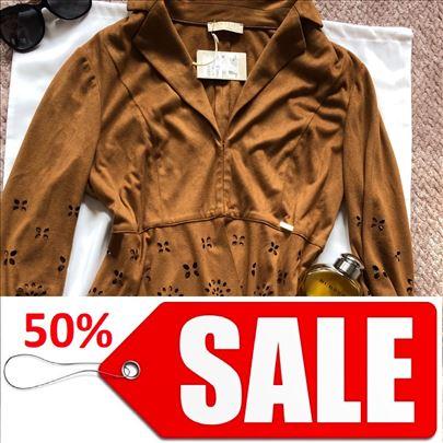 MISS MONEY NOVA vrhunska skupocena braon jaknica M