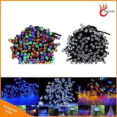 Solarne lampice Novogodisnje Vodootporne RGB
